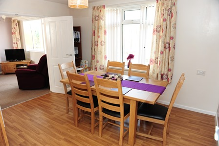 Rampton Hospital Visitors' Centre Living and Dining Rooms