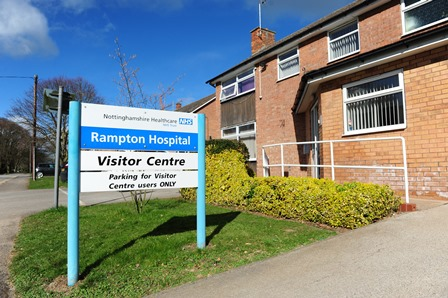 Rampton Hospital Visitors' Centre Entrance