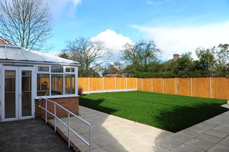 Rampton Visitors' Centre Conservatory
