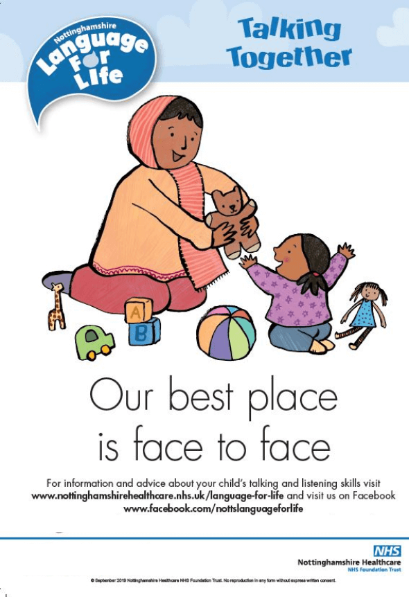 Our best place is face to face