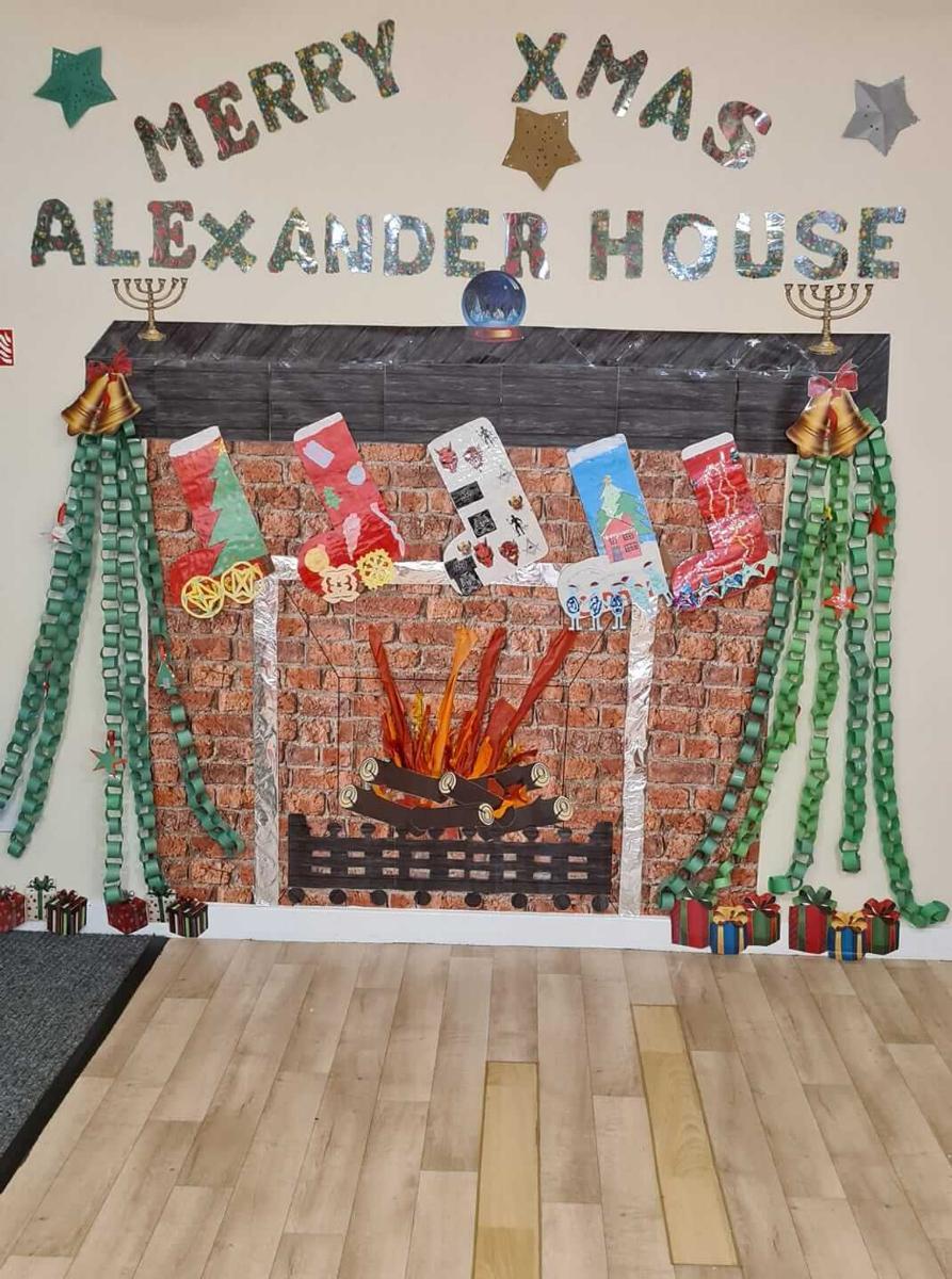 Alexander House at Christmas