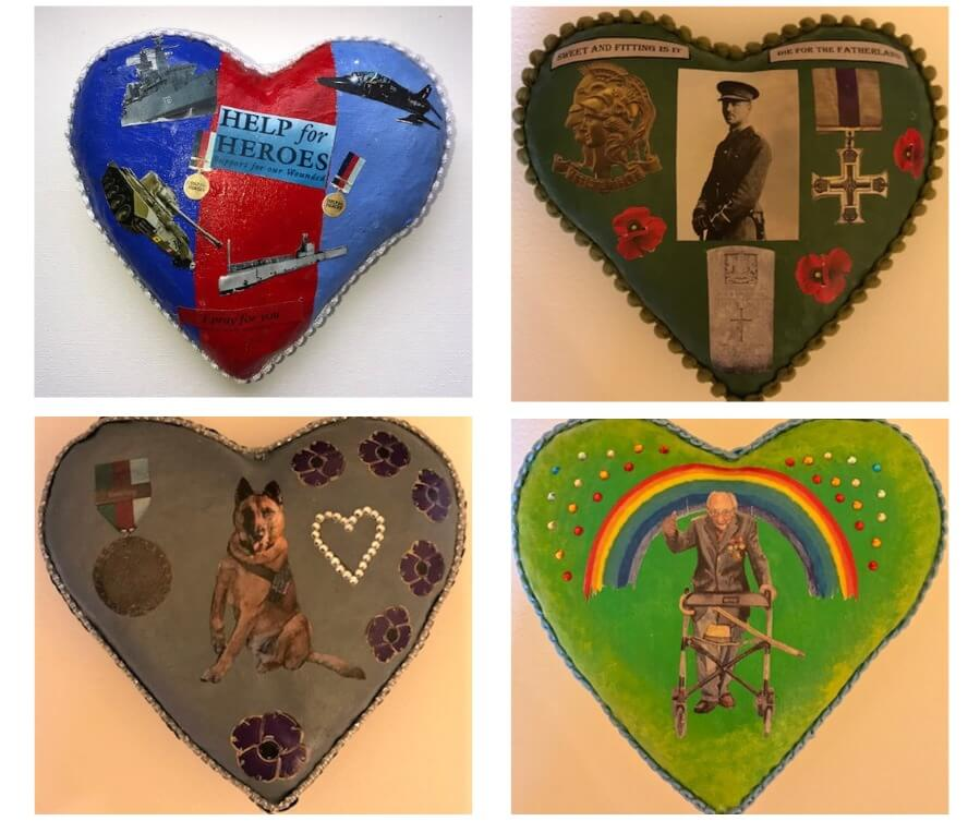Armed Forces Week, Pin Cushions, Rampton Hospital1