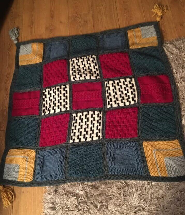 Crochet blanket by Joanne Gilbert from Bracken House