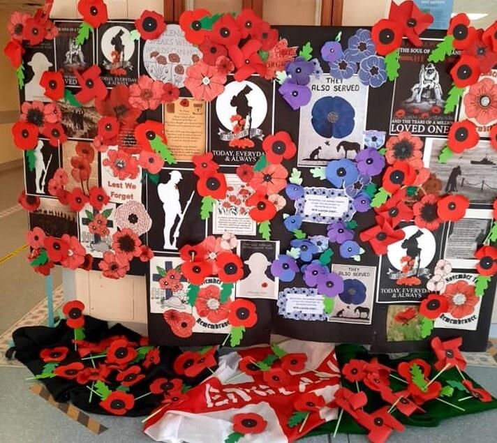 Remembrance Day at Ward B2