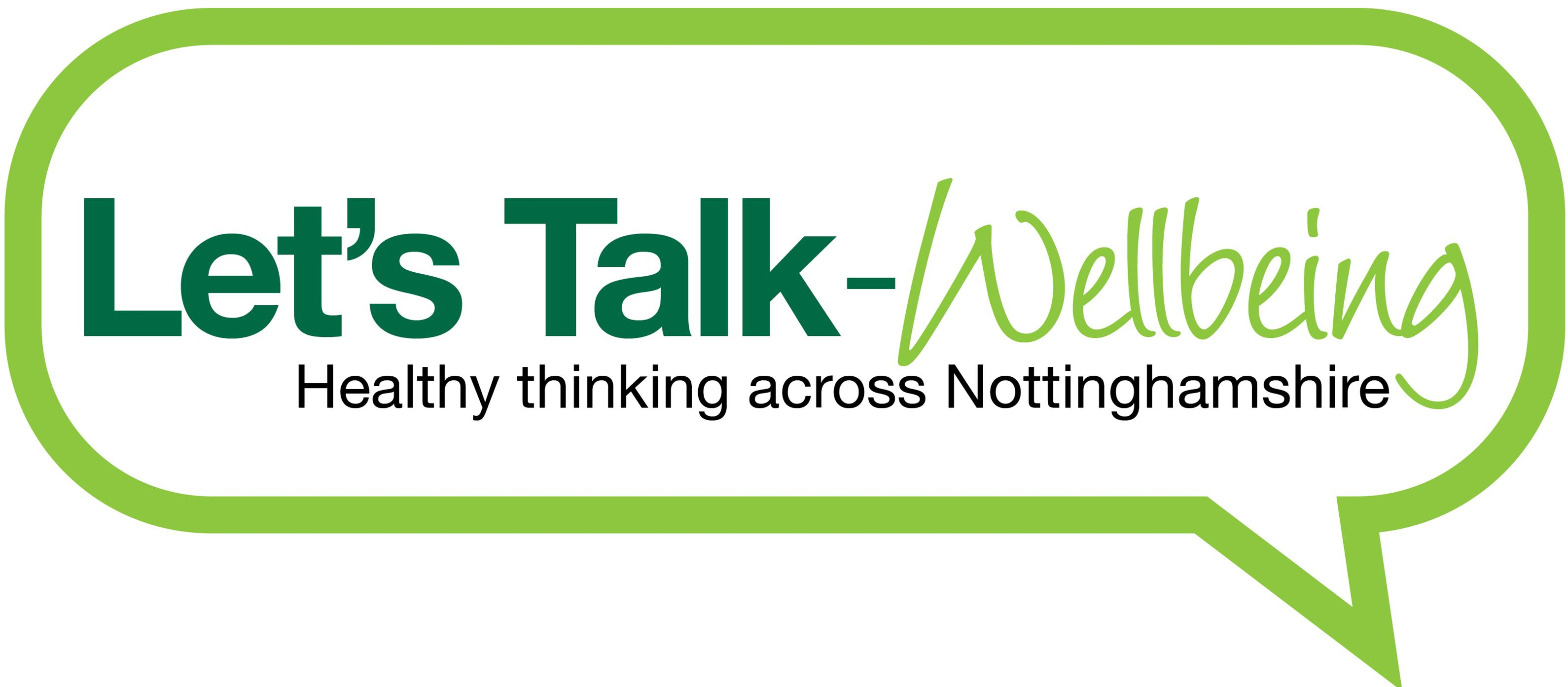 let s talk wellbeing talking therapy healthy thinking