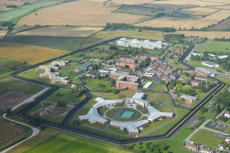 Aerial shot of Rampton Hospital site