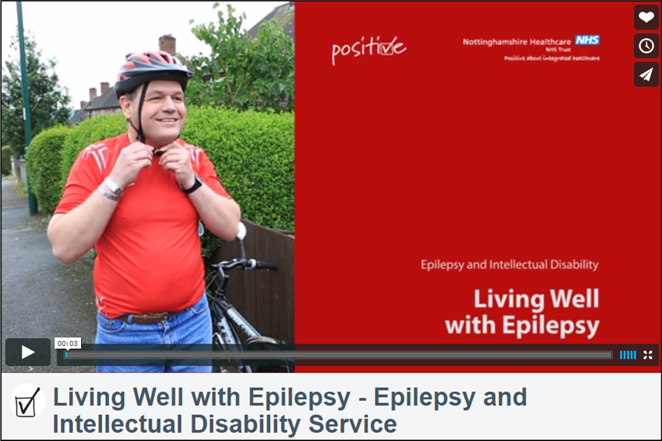 Living well with epilepsy film