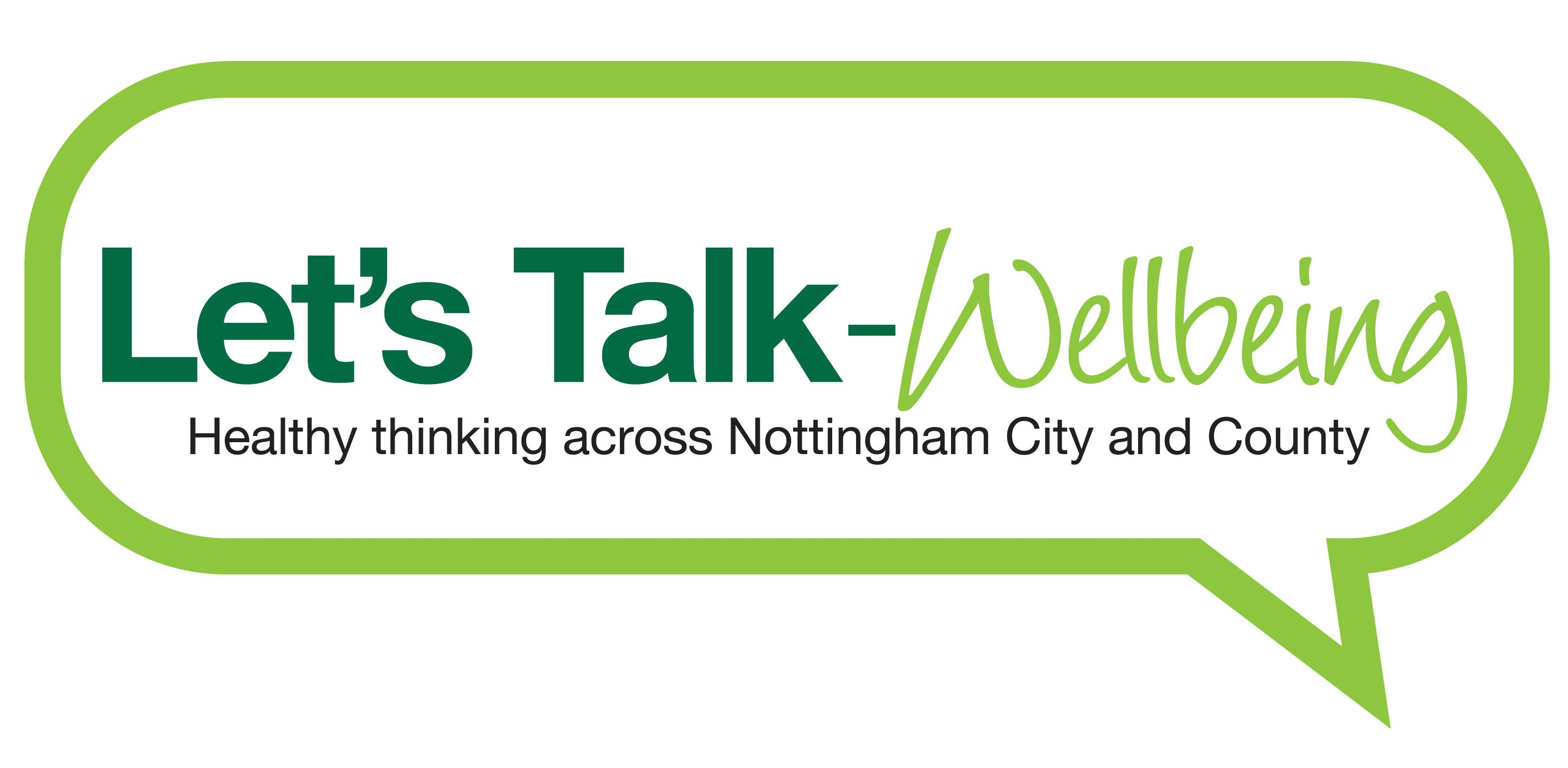Let's Talk Wellbeing Nottingham City and County