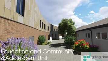 Artist's impression of Education and Community Unit