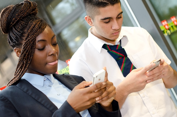 School nursing text service for young people