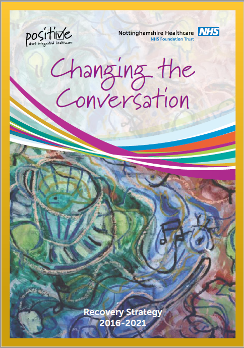Changing the Conversation: Recovery College front cover