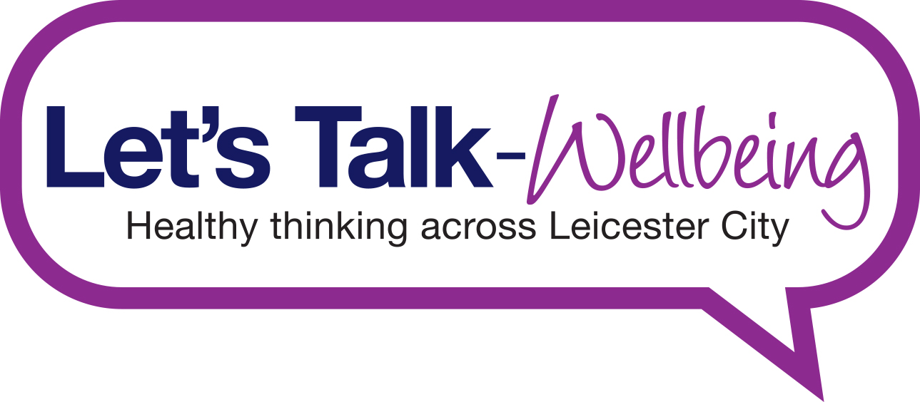 Let's Talk-Wellbeing Leicester City logo